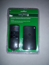 NEW MERRY BRITE OUTDOOR WIRELESS REMOTE CONTROL UP TO 80 FEET 3 PRONG RECEP