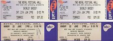 SHIRLEY BASSEY - THE ROYAL FESTIVAL HALL 1998 - 6 USED TICKETS - GAY INTEREST