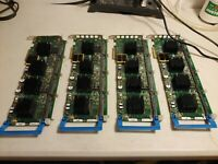 LOT OF 4 GIDEL PROCStar III REV 3 110-4A PCIe based board  - Used **MAKE OFFER**