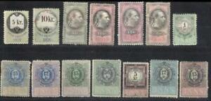 Austria revenues 1870-1888 MH fiscal
