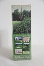 Golf Ball Puzzle Blocks Cube Toy (Triangle Inc)