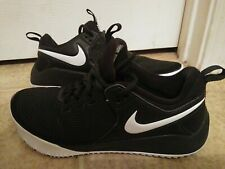 Women's Nike Athletic Volleyball Tennis Court Shoes Size 8.5 Black, Super Nice!!
