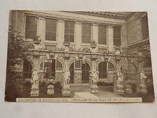 CPSM EXPOSITIONDE BRUXELLES 1910 PAVILLON DE LA VILLE DE BRUXELLES