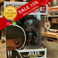 "Funko Pop!Pulp Fiction Jules #62 Extremely Rare Retired ""MINT"" - With Protector"