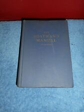 THE BOATMAN'S MANUAL BY CARL D LANE W.W. NORTON & CO. INC 1951 REVISED EDITION