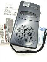 Sanyo TRC-3580 Mini Cassette Talk Book Voice Recorder Dictation Machine Handheld