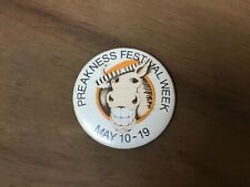 Vintage 1973 Preakness Week Secretariat Button Pimilico Baltimore May 10-19