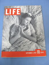 LIFE MAGAZINE SEPTEMBER 5 1938 BING CROSBY BOBBY RIGGS DUTCH QUEEN WILHELMINA