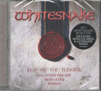WHITESNAKE Slip Of The Tongue (30th Anniversary) CD Ristampa 2019 NEW .cp