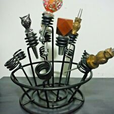Bottle Stopper Bouquet Oenophilia Wine Display Rack Stand Holder Corkers Kitchen