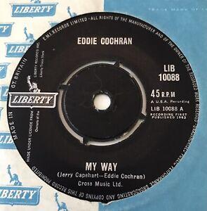 "EDDIE COCHRAN - 1963 - ""MY WAY"" - Liberty - LIB10088 - *EX*"