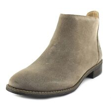 6f42b6a517f7 KARL LAGERFELD Satin Suede Leather Ankle Boots Size 8