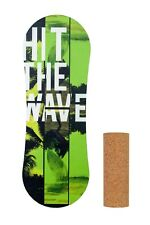 Trickboard Trick board Indo HIT THE WAVE Balance Board with cork roller