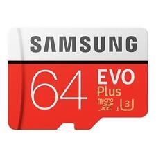 Samsung EVO Plus UHS-3 64GB Micro SDXC Memory Card  read up to 100MB/s