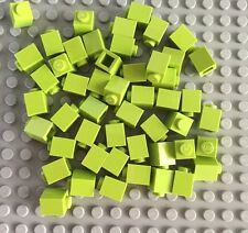 Lego Lot Of 50 Lime Green 1 x 1 Bricks New