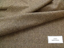 100% Pure New Wool Donegal Tweed Fabric 1.8 m