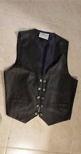 Black Vest by Plus Factor - Polyurethane/Polyester - Size 20W
