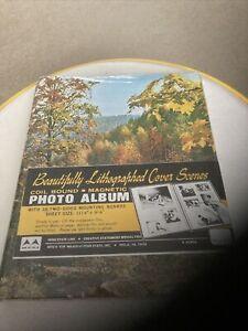 "Vintage Trees Bound Magnetic Photo Album 11-1/4"" X 9-1/4"" Sheets"