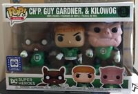 FUNKO POP  LEGIONS OF COLLECTORS CHIP, GUY GARDNER, KILOWOG 3 PACK ONLY
