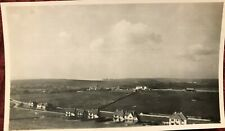 Vintage Photograph View Over Rottingdean Near Brighton East Sussex October 1934