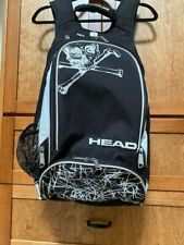 Head Racquetball Tennis Backpack black white skull crossbones - Excellent!