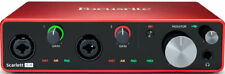 Focusrite Scarlett 4i4 3rd Gen Interface Audio USB - (0815301005186)