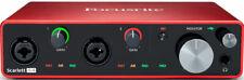 Focusrite Scarlett 4i4 3rd Gen Interface Audio