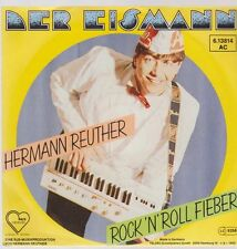 "7"" Hermann Reuther Der Eismann / Rock`n Roll Fieber 80`s Telefunken Herz Records"