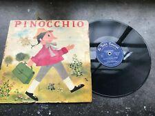 DISQUE VINYLE 33T : collection enfantine le petit poucet - pinocchio