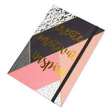 Motivacionales bala diario 100 Hojas A5 5mm Libro de Bosquejo de nota de cuadrícula de puntos Arte Regalo