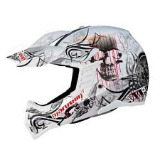 Marushin Rs-Mx et Carbon Monstra White XS. Helmets cross/Enduro Super Light