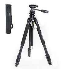 NEW Fancier FT-6663A camera Tripod + 3 way head + bag Tripods WEIFENG AU LOCAL