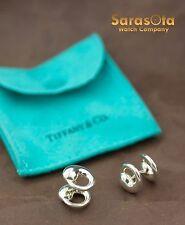 Tiffany&Co Sterling Silver 925 Peretti Sevillana Cuff links