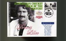 DENNIS LILLEE AUST CRICKET TEAM OF THE CENTURY COVER