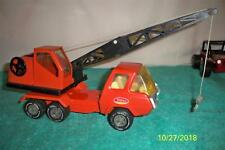 """Tonka Crane Truck 1975 # 1099,A Fully working old Toy Pressed Steel 12 """" Long"""