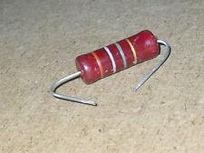 Radio/Electronics/Amplifier.   2 - Watt PIHER Resistor.   1.5Mohm       NOS