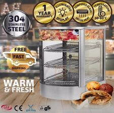 SEAR Commercial Pie Food Warmer Hot Display Showcase Cabinet