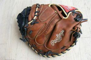 """Rawlings Sandlot Series 33"""" Catcher's Mitt Right hand throw Baseball Mitt"""