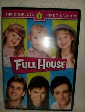 Full House - Complete First Season One 1 (DVD, 2012, 4-Disc Set) New Sealed