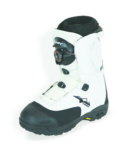 HMK Men's Size 15 Team BOA White Snowmobile Snocross Waterproof Boot