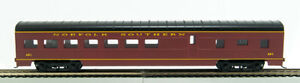 HO 72 Ft Norfolk Southern Passenger Dining Car Tuscan Red (1-1011)