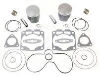 """2002 Polaris 800 RMK 156"""" SPI Pistons Bearings Top End Gasket Kit Std Bore 85mm"""