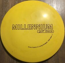 Rare Pfn Patent #s 1st Run Serius Polaris Ls 173.4 g Innova Disc Golf Oop New