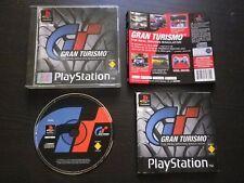 JEU Sony PLAYSTATION PS1 PS2 GRAN TURISMO (courses auto GT COMPLET envoi suivi)