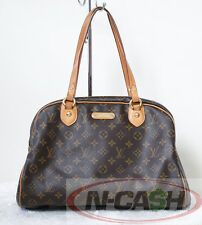 SALE!! Authentic $1070 Louis Vuitton Monogram Montorguiel GM LV Handbag