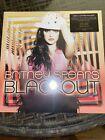 Britney Spears - Blackout Exclusive Limited Black Yellow Red Splatter Vinyl LP