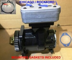 Air Compressor for CUMMINS ISX - Volvo,Intrenational ,Kenworth,Peterbilt trucks