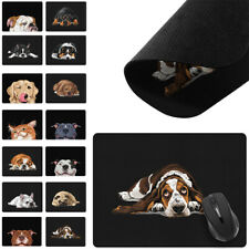X-Large Rectangle Mouse Pad Non-Slip Dog Cat Design for Home Office Gaming Desk
