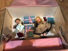 "Madame Alexander 8"" Park Avenue Wendy and Alex the Bellhop Doll Set New"
