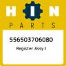 5565037060B0 Hino Register assy i 5565037060B0, New Genuine OEM Part